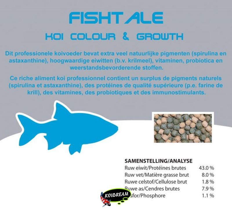 Koi Colour & Growth 6.0 mm 2500 ml/ 1060g