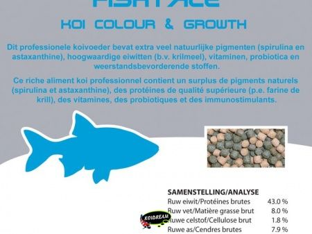 Koi Colour & Growth 6.0 mm 8000 ml/3400g