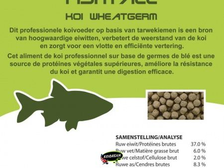 Koi Wheatgerm 3.0 mm - 8000 ml / 3400 gr