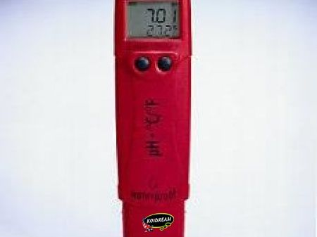 Phep 4, Waterbestendige pocket pH/°C meter